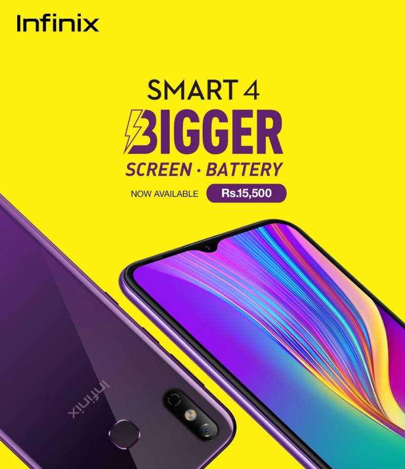 Bigger just got better, Infinix Smart 4 now available in Pakistan