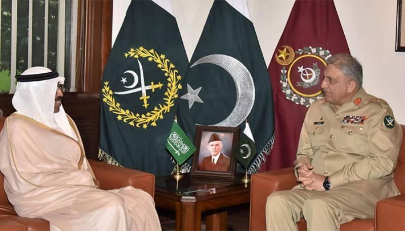 COAS Gen Bajwa, top Saudi defence official discuss regional security