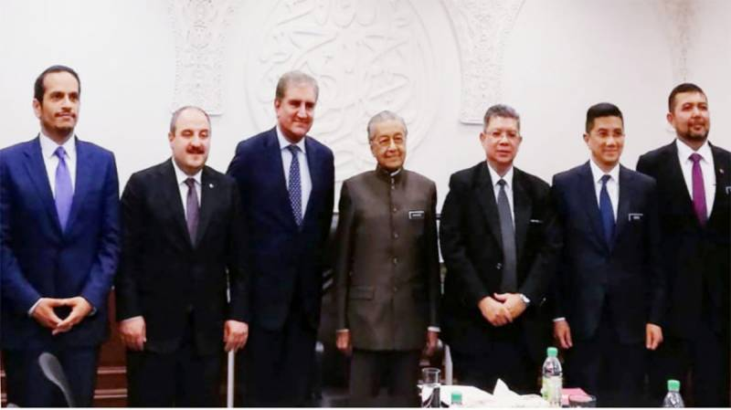 FM Qureshi thanks Malaysian Govt for principled stance on Kashmir dispute