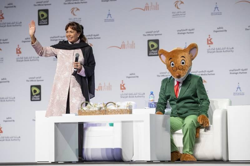 Sharjah to feature in Elisabetta Dami's upcoming Geronimo Stilton Book