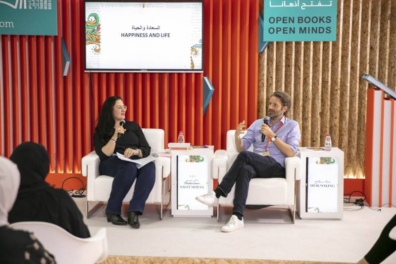 Danish author shares ways to make world happier at SIBF 2019