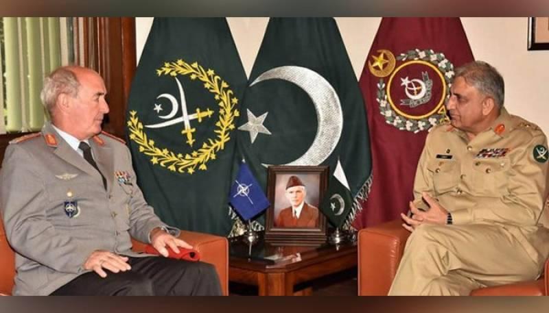 NATO commander meets COAS, lauds Pakistan Army's role in regional peace
