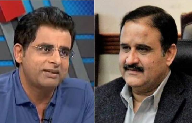 Punjab CM Buzdar serves defamation notice on Irshad Bhatti
