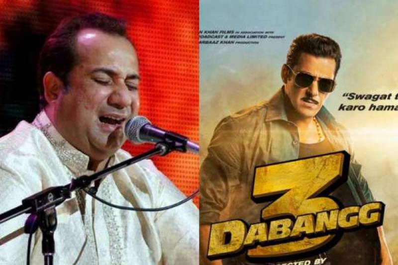 Rahat Fateh Ali Khan's song reportedly removed from Dabangg 3