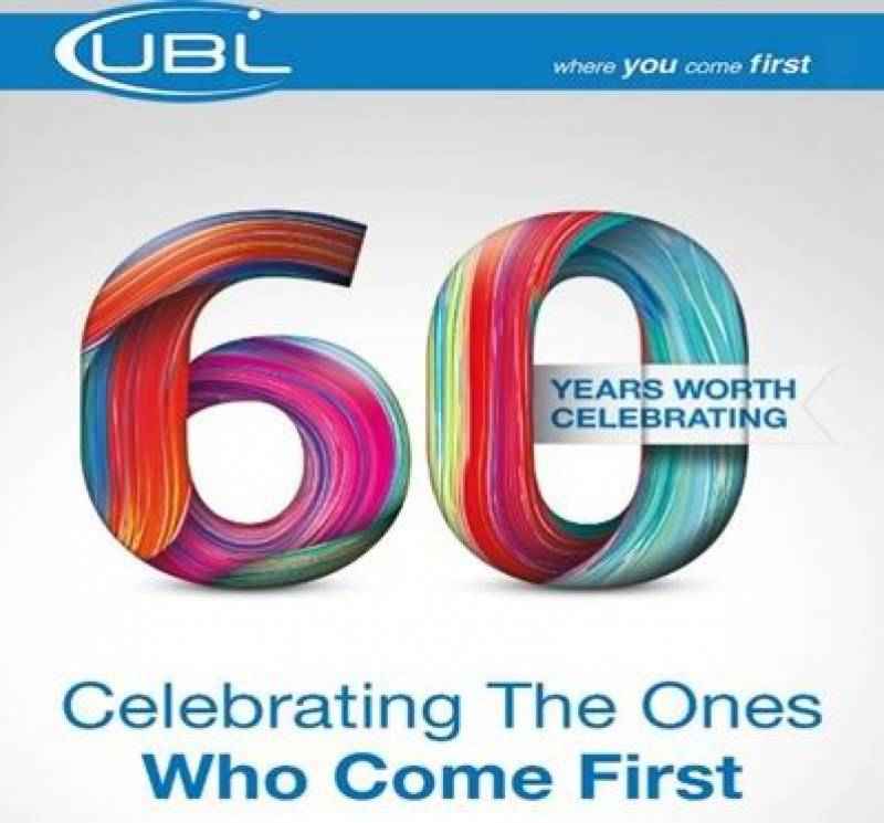 UBL celebrates 60 years of progressiveness & innovation!