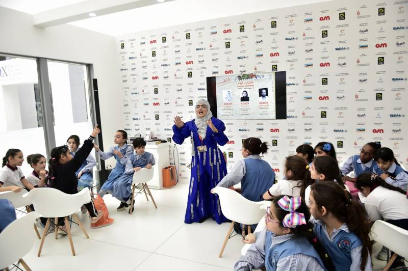 SIBF 2019 revives Hakawati – An ancient Arab art of storytelling