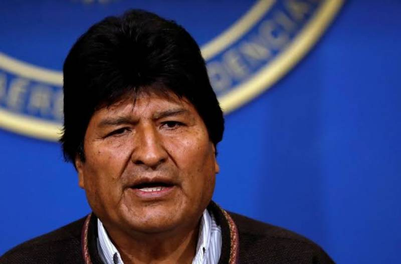 Bolivian President Morales resigns amid protests against fraud polls