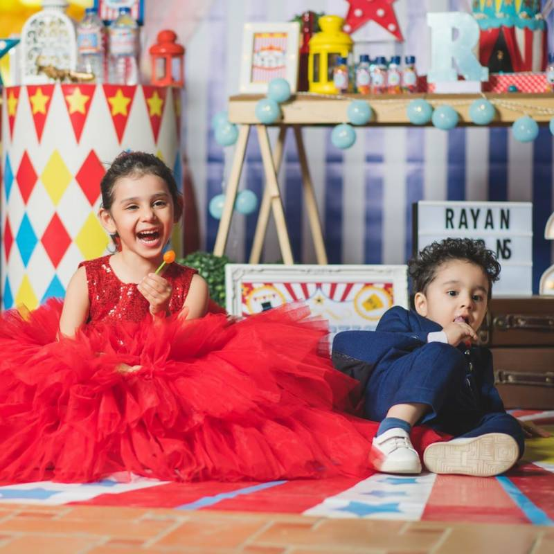 Danish Taimoor, Ayeza Khan's son Rayan turns 2