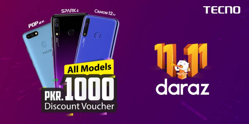 """Tecno collaboration with""""DARAZ GYARA GYARA"""" is offering exciting offers"""
