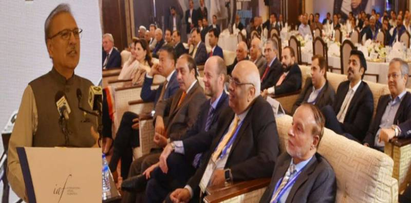 Foreign investors keen to invest in different sectors in Pakistan: President Arif Alvi