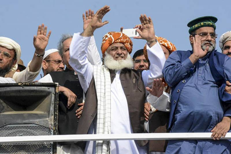 'Plan B': JUI-F ends 'Azadi March' in Islamabad, announces countrywide protests