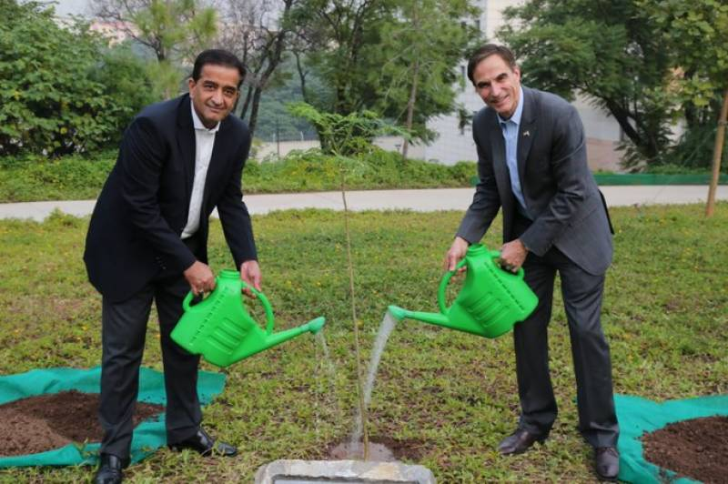 United States joins Pakistan's Ten Billion Tree Tsunami project