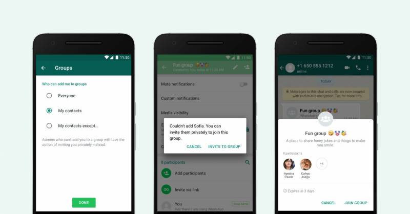 WhatsApp empowers users with newprivacy controls
