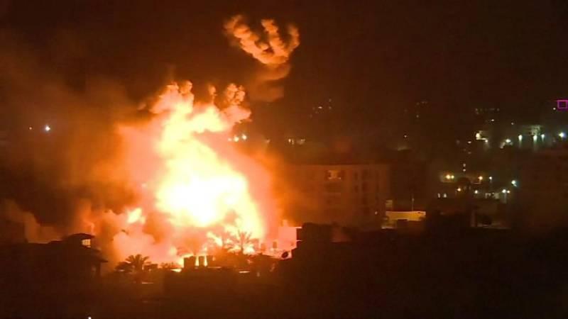 Israeli strikes: At least 26 Palestinians martyred in Gaza Strip