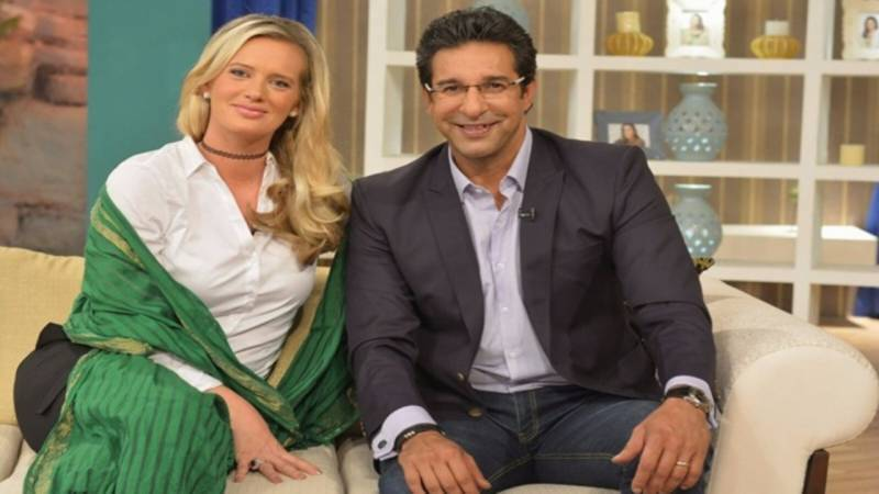 Shaniera Akram reveals the best thing about being married to Wasim Akram