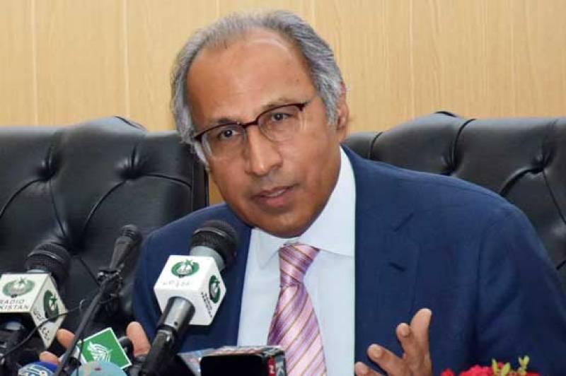 National economy back on track, says Hafeez Shaikh