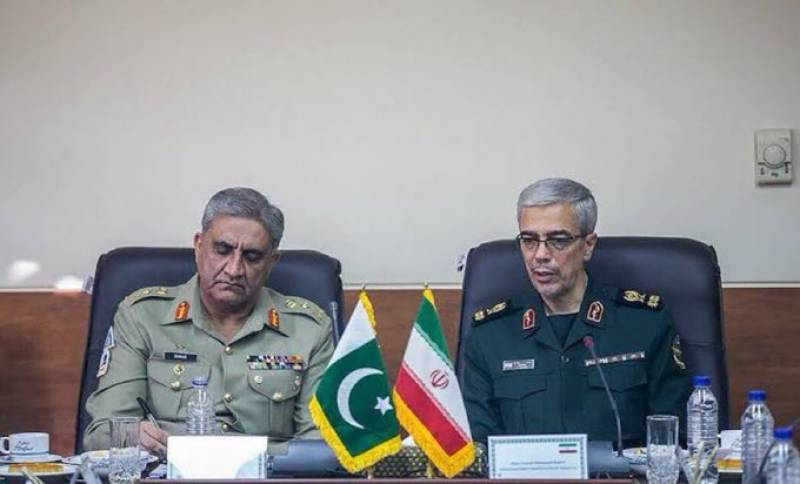 Pakistan Army chief lands in Tehran on official visit: ISPR