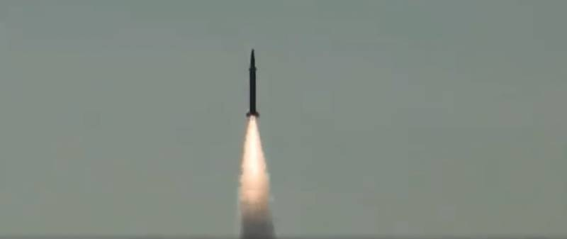 Pakistan successfully tests surface-to-surface ballistic missile Shaheen-1
