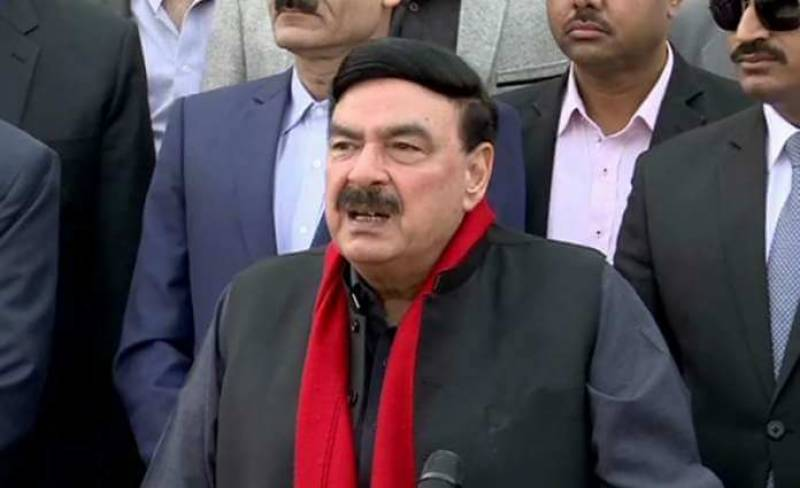 Sheikh Rasheed hospitalised with chest pain