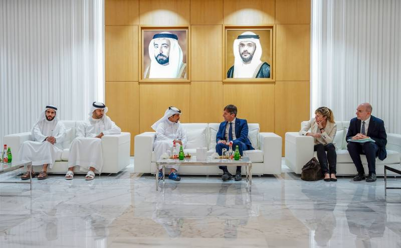 Sharjah Book Authority explores cooperation with senior Italian officials