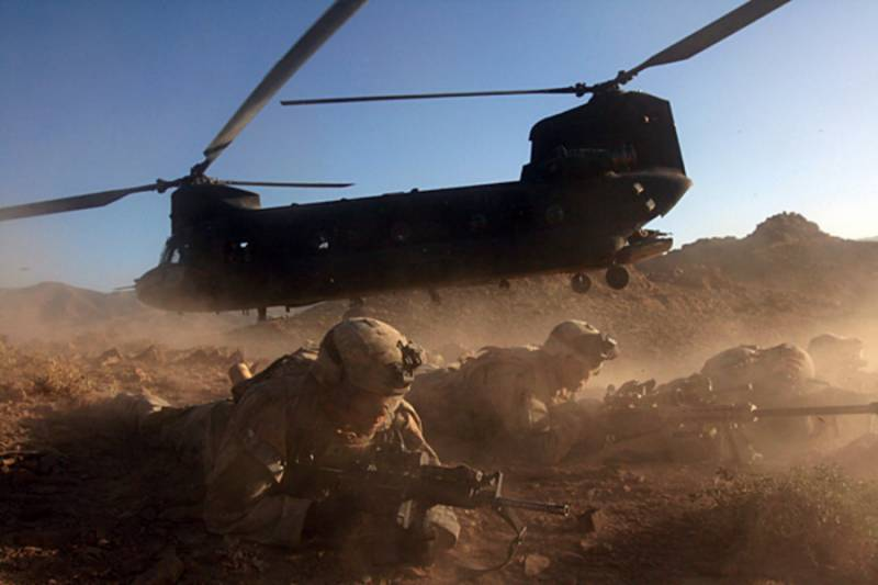 Helicopter crash kills two US servicemen in Afghanistan