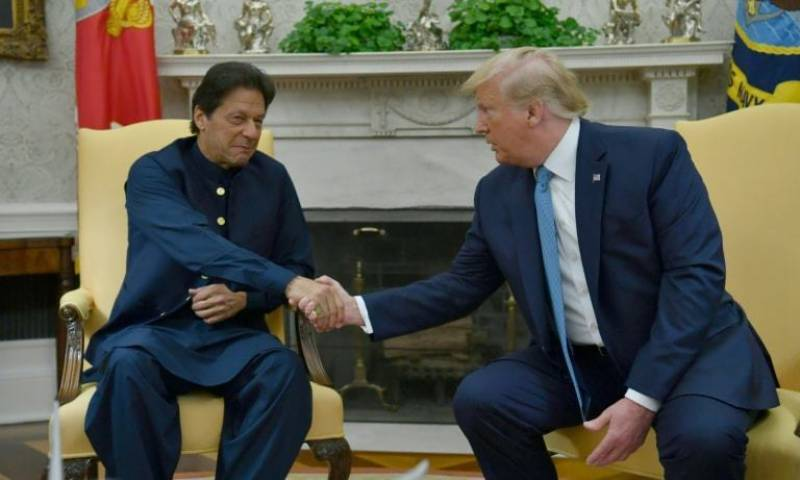 PM Imran, President Trump vow to continue efforts for peace in Afghanistan