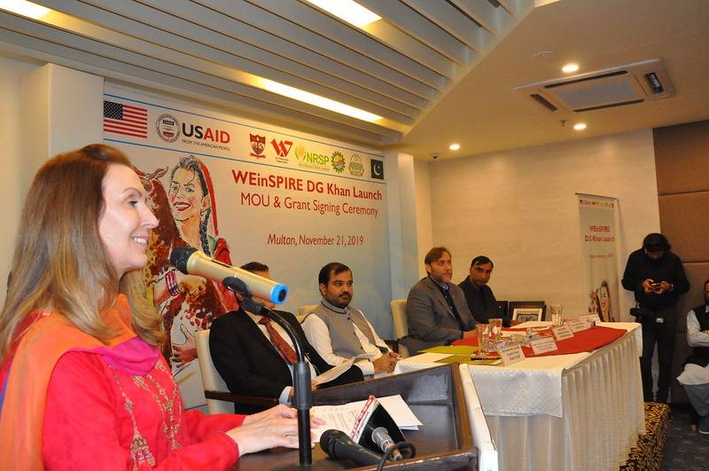 USAID signs MoU supporting women's economic empowerment in South Punjab