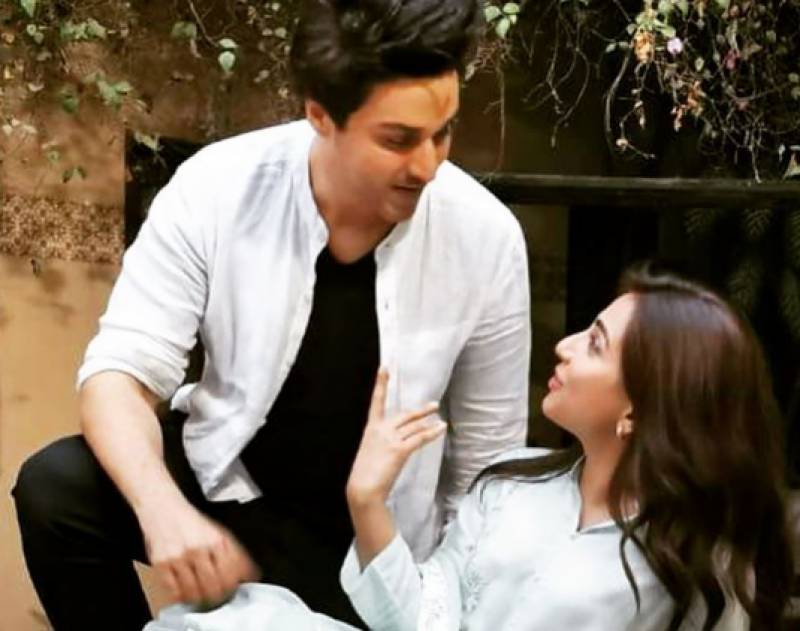 Ahsan Khan, Ushna Shah team up for an upcoming TV project