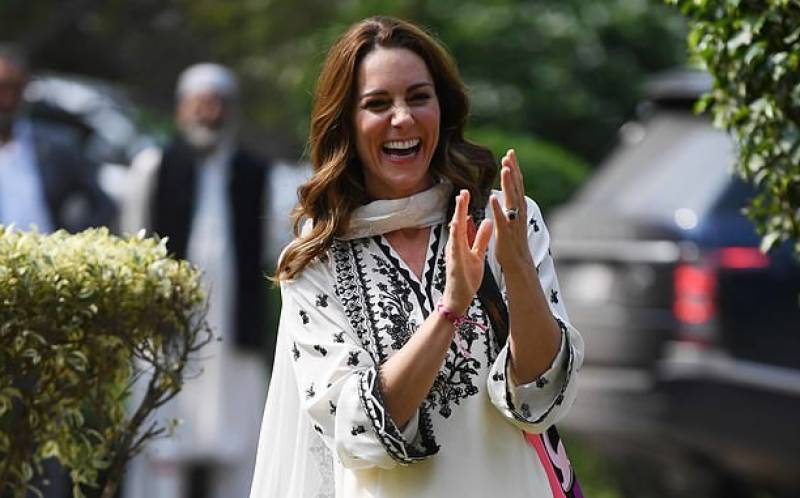 Kate Middleton sends thank you note to Pakistani designer Khadija Shah
