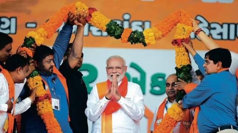 Modi's party makes surprise comeback in India's richest state