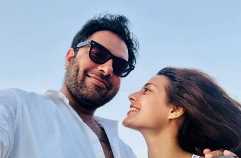 Yasir Hussain throws lady love Iqra Aziz a birthday party!