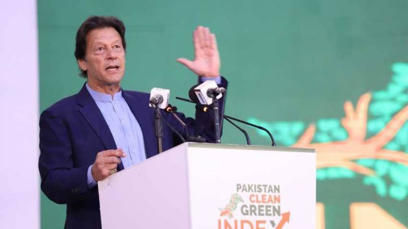 PM Imran launches Clean, Green Pakistan Index in 19 cities