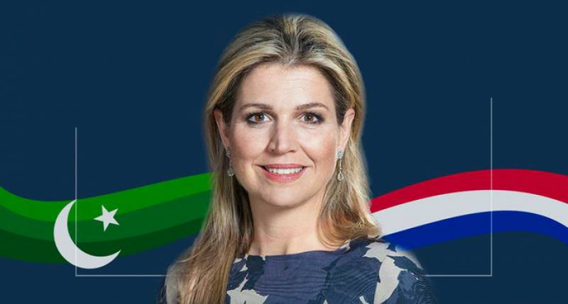Queen Maxima of Netherlands arrives in Pakistan on 3-day visit