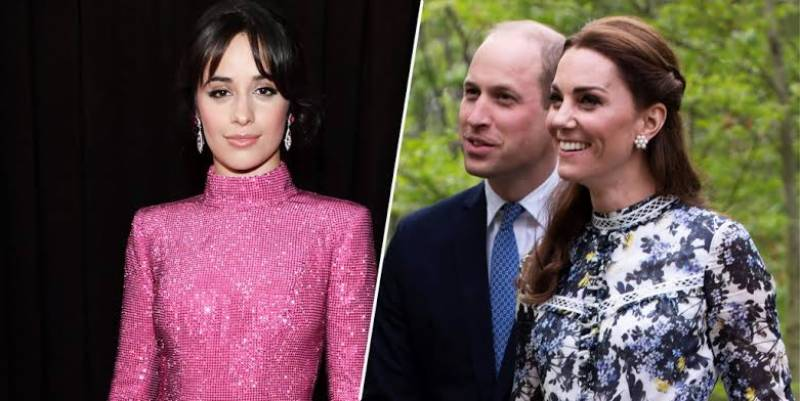 Camila Cabello says she stole a pencil from Kate Middleton