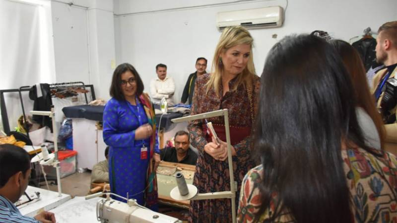 Dutch Queen Maxima spends eventful day in Lahore