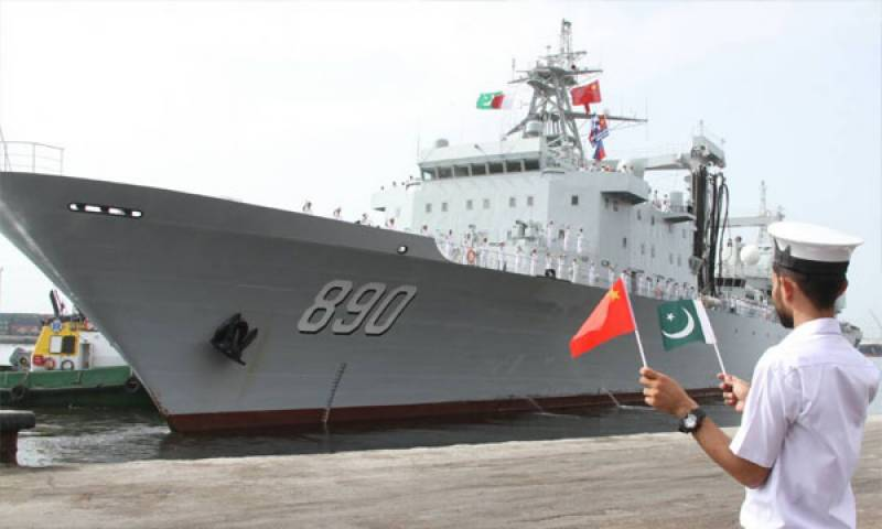 Pakistan, China to hold joint naval drills in Arabian sea next year