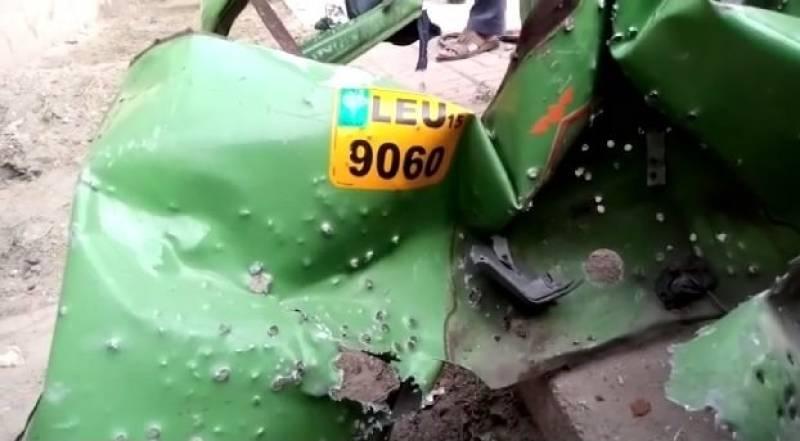 Seven injured in Lahore's rickshaw blast