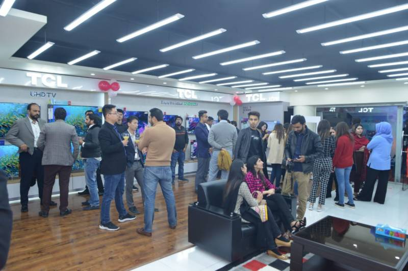 TCL opens new flagship store in the hub of Islamabad