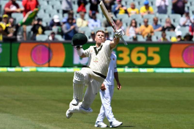 Australia's Warner hits rare triple century against Pakistan