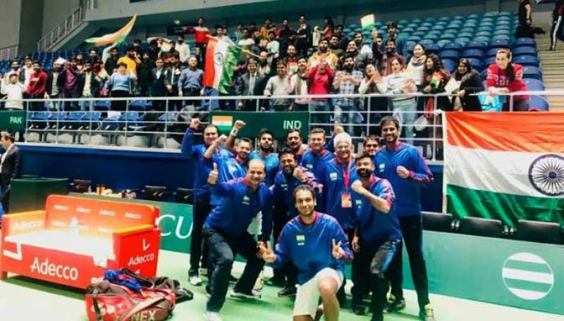 India beat Pakistan by 4-0 to seal Davis Cup qualifiers spot