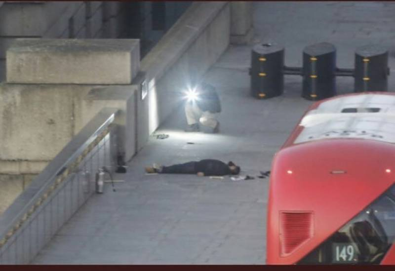 London Bridge attacker identified as a UK national of Pakistani origin