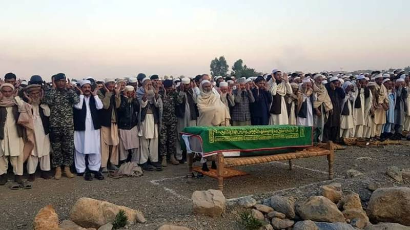 Pakistani soldier, martyred in North Waziristan terror attack, laid to rest in Khyber