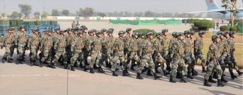Warrior VII: Chinese troops head to Pakistan for joint military drills