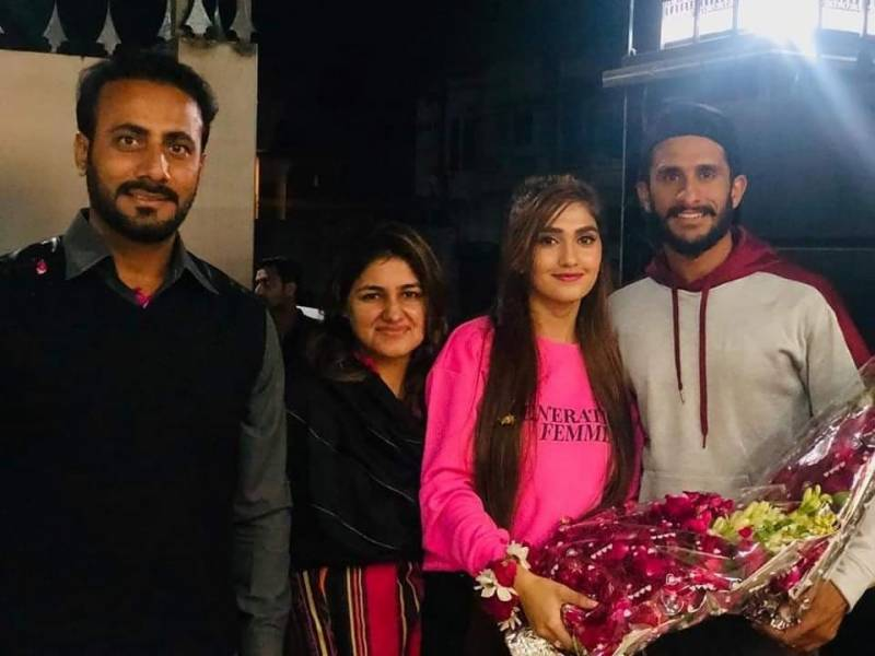 Hassan Ali's wife Shamia Arzoo visits Pakistan for the first time