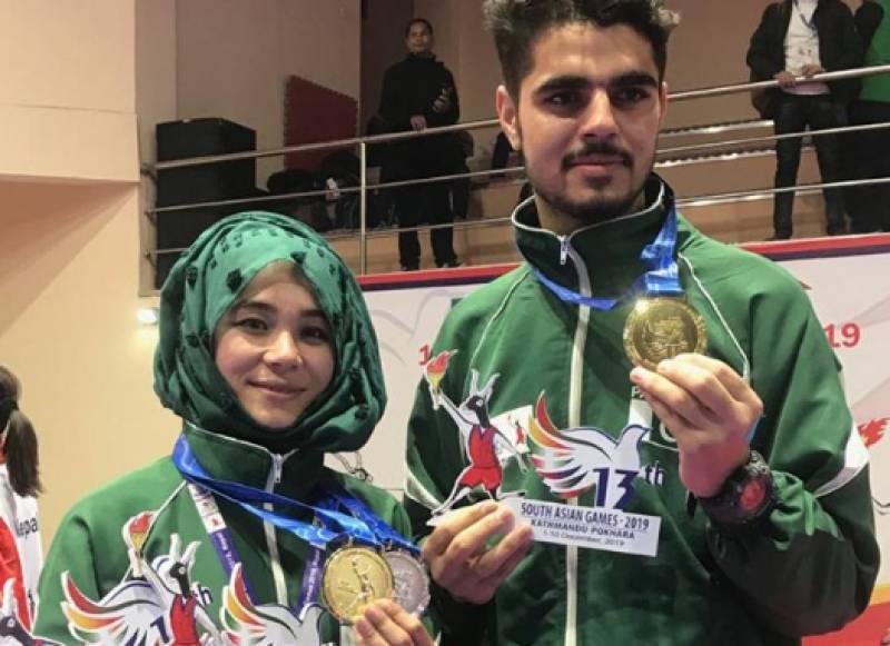 Shahida Abbasi from Balochistan bags gold at Asian games