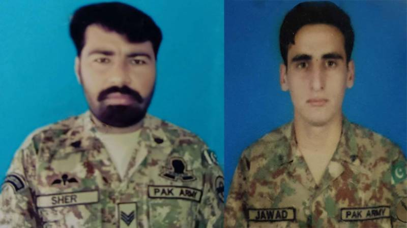 Two soldiers martyred, two terrorists killed in N Waziristan operation