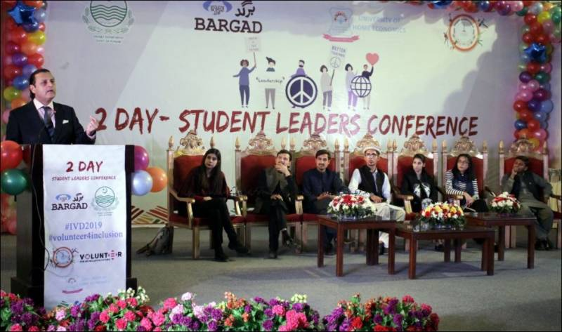 Youth-led Projects showcased in 'Student Leaders Conference'