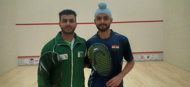 Tayyab Aslam of Pakistan claims gold medal in 13th SA Games