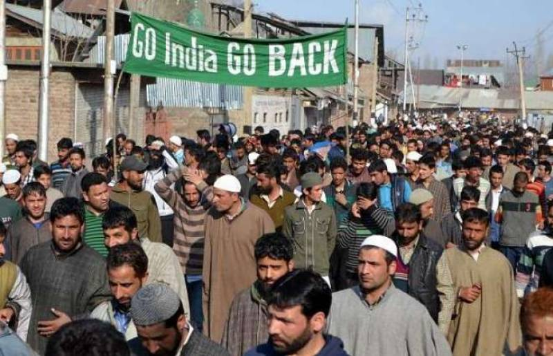 People in Indian Occupied Kashmir to observe World Human Rights day as Black Day tomorrow