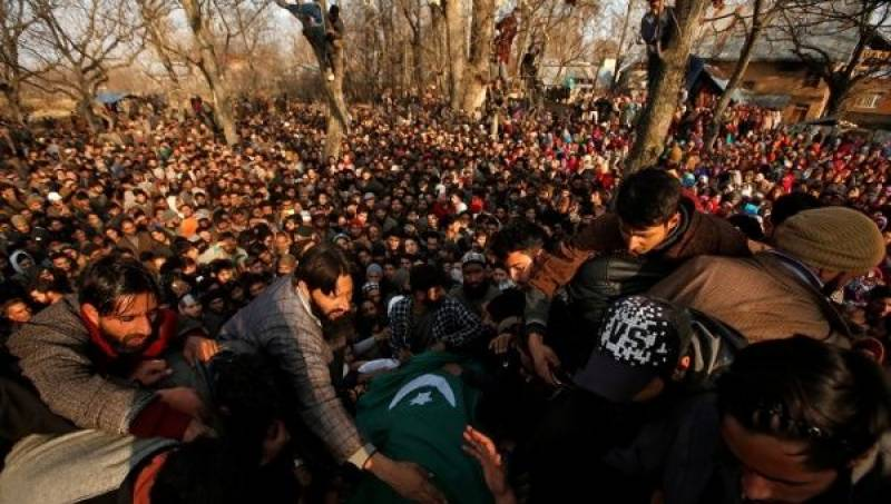 Indian troops killed 95,471 Kashmiris since Jan 1989